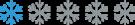 Snowflake_rating_1_flake_200x37