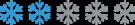 Snowflake_rating_2_flake_200x37