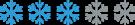 Snowflake_rating_3_flake_200x37