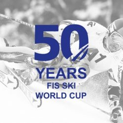 FIS Alpine Ski World Cup 50th Anniversary