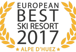 Alpe d'Huez, voted Best Ski Resort in Europe!