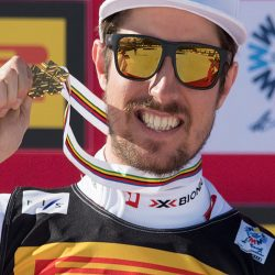 Hirscher wins slalom gold at World Alpine Championships