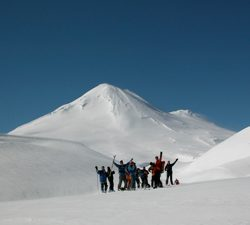Snoworks Adventure Course Takes Skiers To The Volcanoes Of Southern Chile