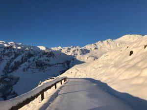 Mayrhofen snowfall