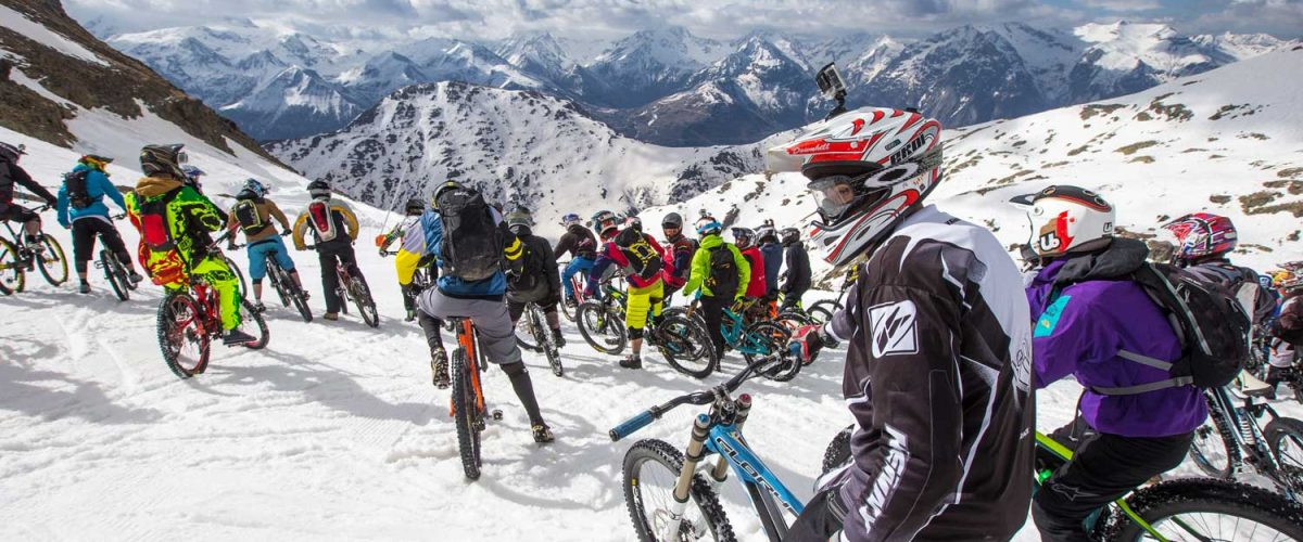 Sarenne Snow Bike is 10 years old this year!