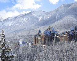 Destination Signature Banff Springs Hotel Winter Fairmont 15 Horizontal
