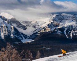 Ski Snowboard Lake Louise 2016 Reuben Krabbe 13 Horizontal