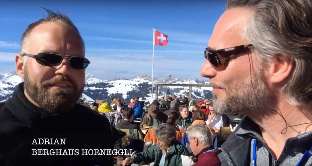 Ski TV visit the ski resort of Gstaad Switzerland