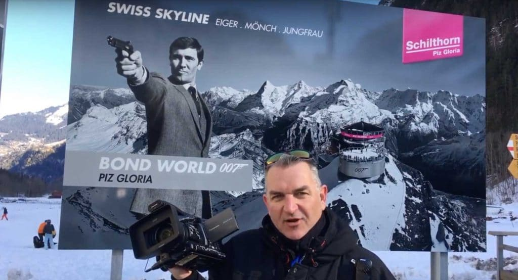 Ski TV Visiting The ski resort of Murren Switzerland