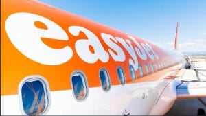 Easyjet Plane winter flights launch