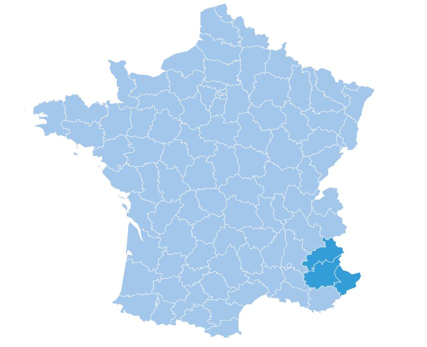 Screenshot Southern Alps Map