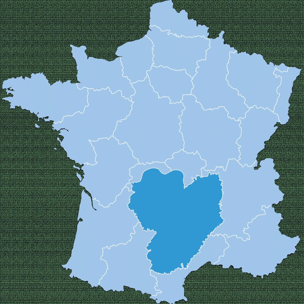 regions france massifcentral