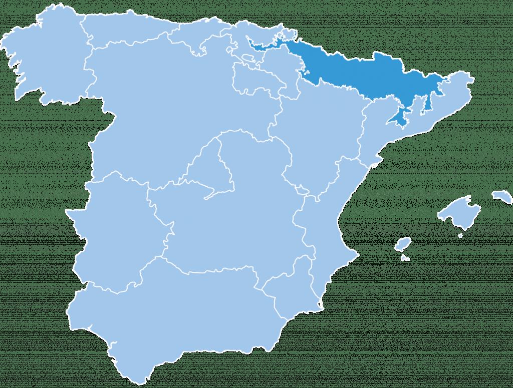 regions spain pyrenees