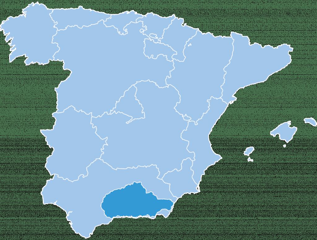 Sierra ski region Spain