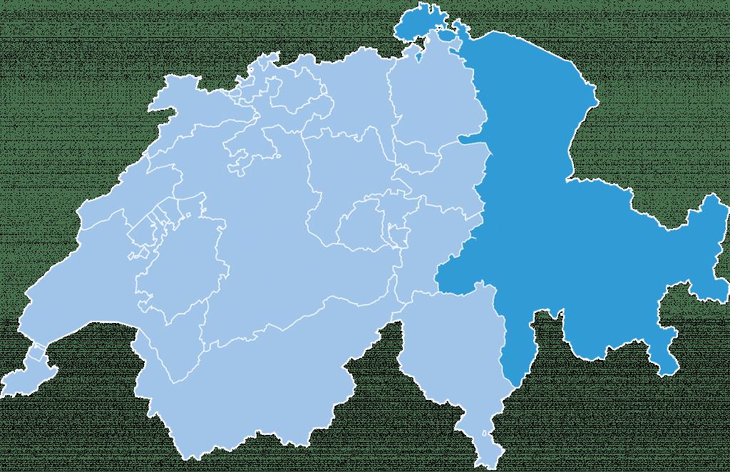 regions swiss eastern