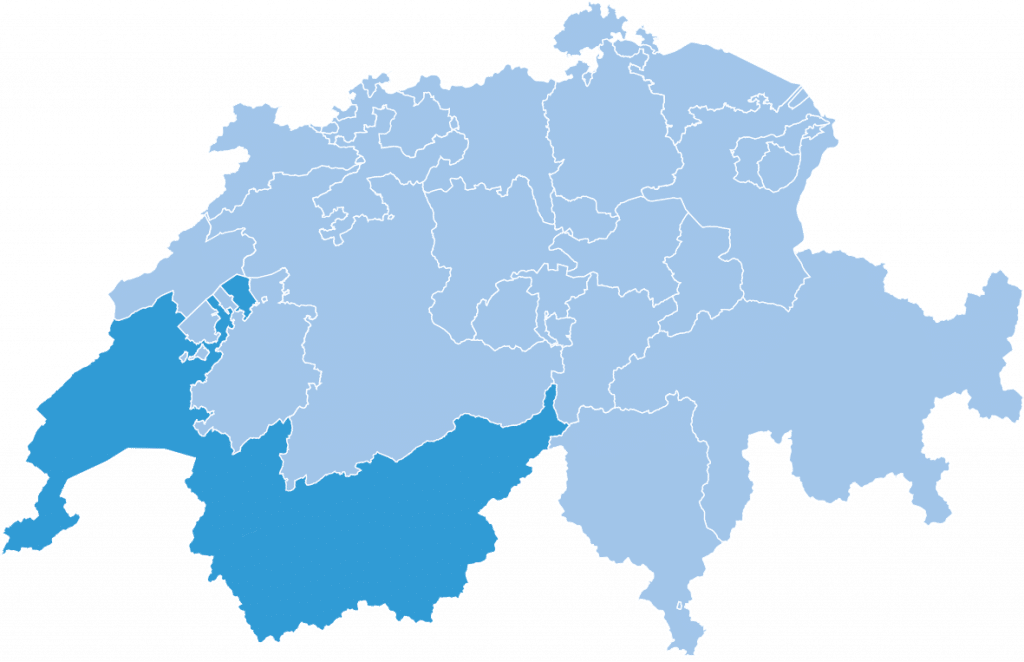 regions swiss lemanic