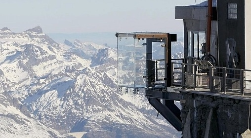 Step into the Void, Mont Blanc
