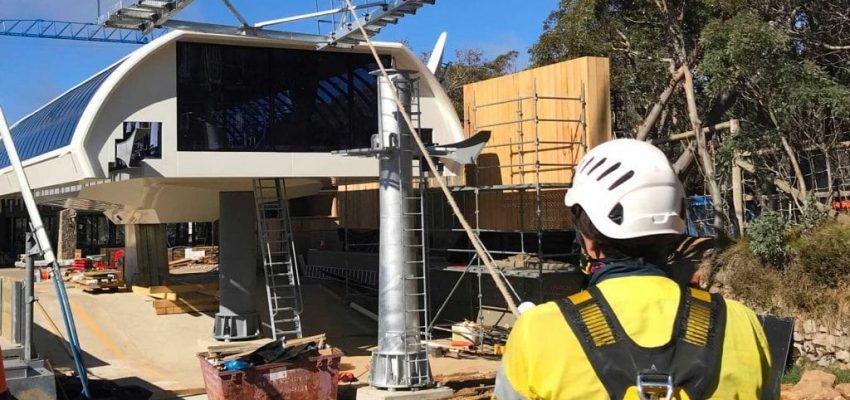Tower 1 Bourke Street Express under construction