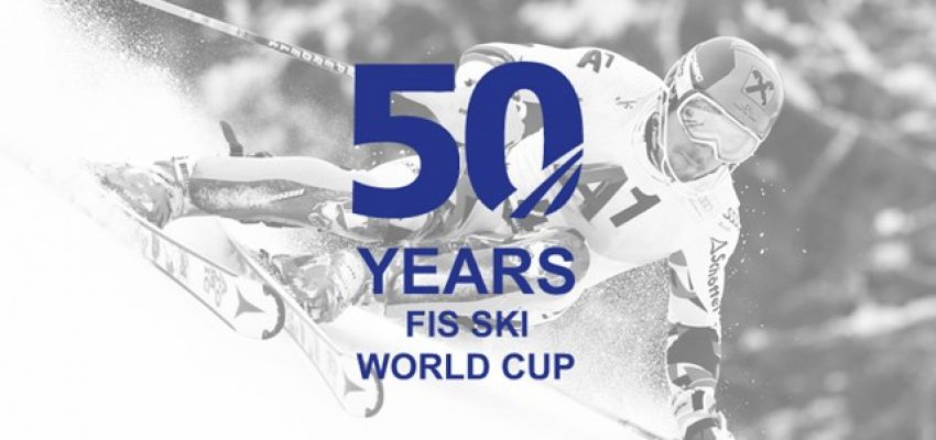 50 years FIS Alpine Skiing World Cup