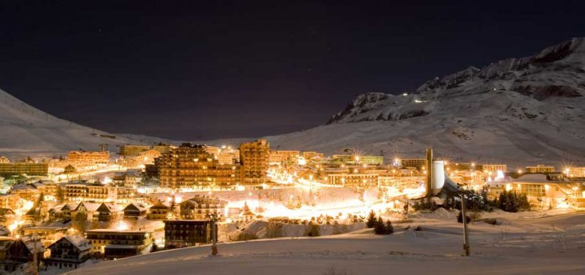 Alpe-d'Huez-Night