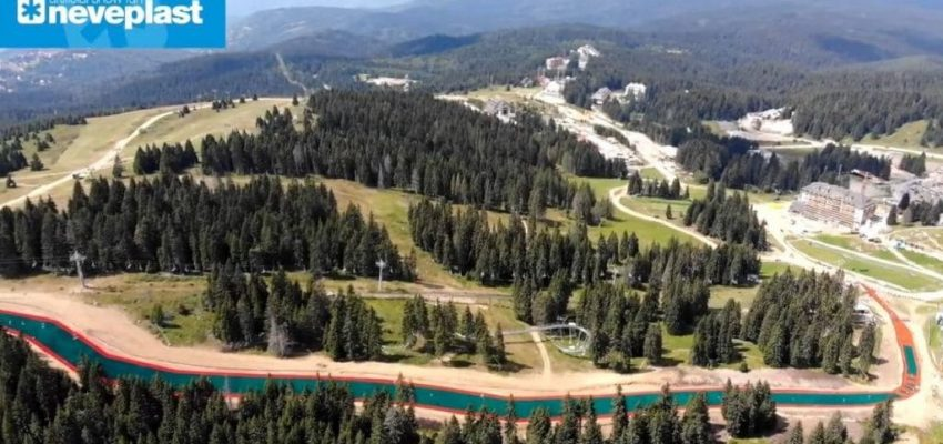 Europe's Largest Artificial Ski Slope - Kopaonik