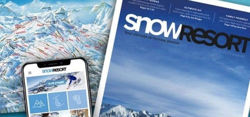 Snowresort standard background image