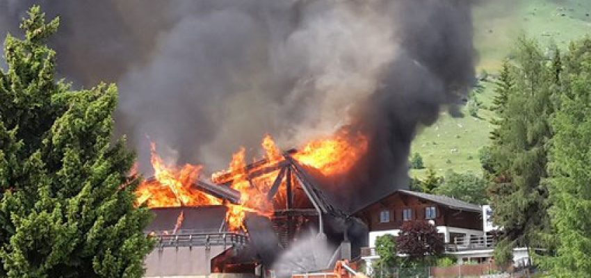Verbier Sports Centre Fire