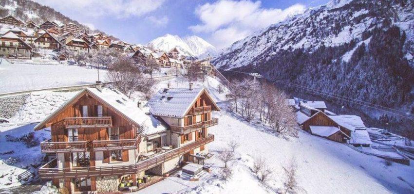 A ski chalet