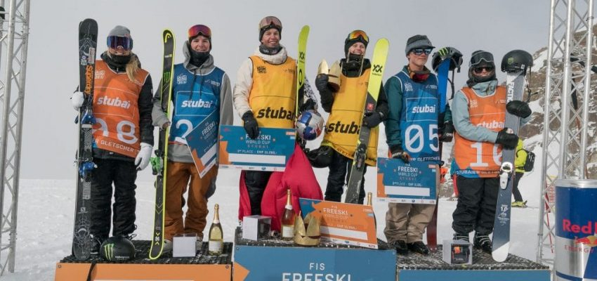 Stubai Slopestyle World Cup Podium